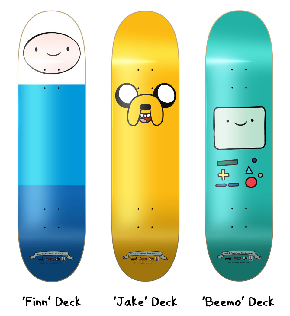 Verb x Adventure Time Decks