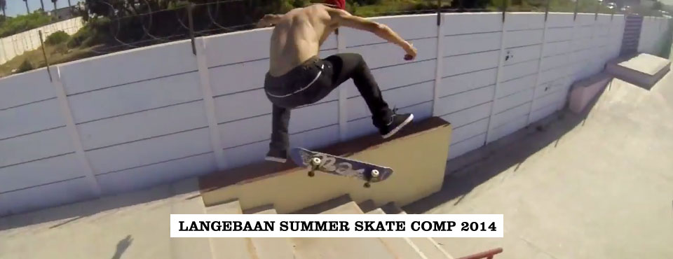 Langebaan Summer Skate Comp 2014